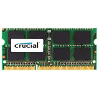 Crucial 8GB DDR3-1600 (PC3-12800) CL11 SO-DIMM Laptop Memory Module (Apple Memory)