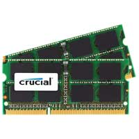 Crucial 8GB DDR3-1333 (PC3-10600) CL9 SO-DIMM Laptop Memory Kit (Two 4GB Apple Memory Modules)
