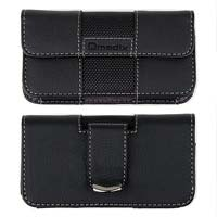Qmadix Small Horizontal Deluxe Pouch - Black