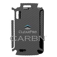 Clear Protector Atrix 4G - Carbon Graphite