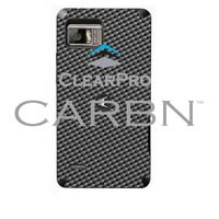 Clear Protector Motorola Droid Bionic CARBN - Graphite