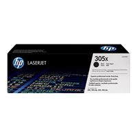 HP 305X LaserJet Black High Yield Toner Cartridge