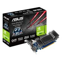 ASUS GT610-SL-2GD3-L NVIDIA GeForce GT 610 2048MB DDR3 PCIe 2.0 x16 Video Card