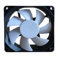 Purex 92mm Computer Case Fan with White Blade