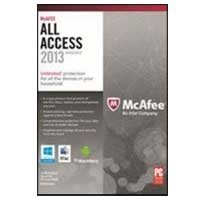 McAfee 2013 All Access Household