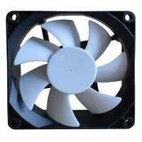 Purex 120mm Case Fan with White Blades