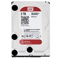 "WD Network Red 2TB IntelliPower SATA 6.0Gb/s 3.5"" Internal Hard Drive (NAS) WD20EFRX - Bare Drive"