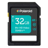 Polaroid 32GB Class 10 Secure Digital High Capacity / Ultra High Speed-I (SDHC / UHS-I) Flash Media Card PSDH32U130GEPOL
