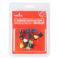 SparkFun Electronics Tactile Button Assortment