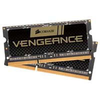 Corsair Vengeance Performance 16GB DDR3-1600 (PC3-12800) CL10 SO-DIMM Laptop Memory Kit  (Two 8GB Memory Modules)