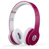 Beats by Dr. Dre 900-00061-01 Beats Solo HD Headphones - Pink