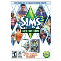 Electronic Arts Sims 3 Plus Supernatural Expansion Pack (PC/Mac)