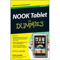 Wiley NOOK TABLET DUMMIES 2/E