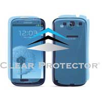 Clear Protector Samsung Galaxy S III Extended Protector