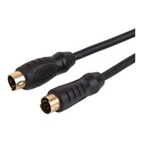 Just Hook It Up 6 ft. S-Video Cable - Black