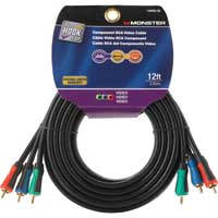 Just Hook It Up 12 ft. RCA Component (R,G,B) Cable