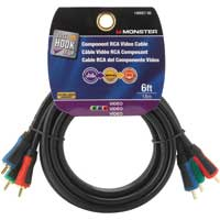 Just Hook It Up 140057-00 6 ft. Component Video Cable