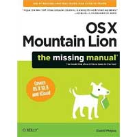 O'Reilly MAC OS X MOUNTAIN LION