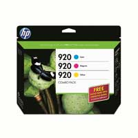 HP 920 Combo Creative Pack with 20 sheet Photo Paper