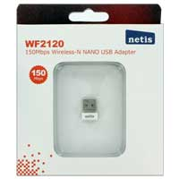 Netis WF-2120 Wireless 802.11b/g/n 150Mbps Nano USB Adapter