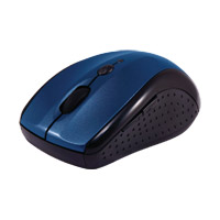 2.4GHz Wireless 5-Button Optical Mouse Blue