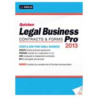 Nolo.com Quicken Legal Business Pro 2013 (PC)