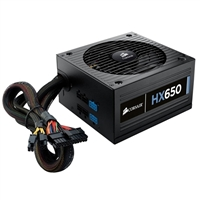 Corsair HX Series HX650 650 Watt ATX 12V Modular Power Supply