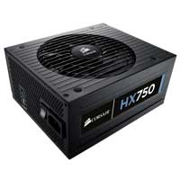 Corsair HX Series HX750 750 Watt ATX 12V Modular Power Supply