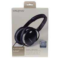 Creative Labs Aurvana Live! Over Ear Stereo Headphones