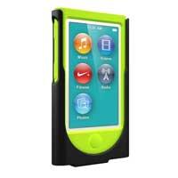 Cygnett Holster Hybrid Case for iPod Nano 7 - Black/Green