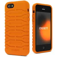 Cygnett Canyon Bulldozer Case for iPhone 5 - Orange
