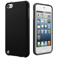 Cygnett PlayUp Dual Material Case for iPod Touch 5 - Grayscale Black
