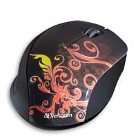 Verbatim Wireless Optical Notebook Design Mouse - Orange