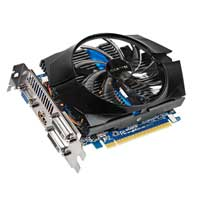 Gigabyte GV-N650OC-2GI NVIDIA GeForce GTX 650 HD Experience Series Overclocked 2048MB GDDR5 PCIe 3.0 x16 Video Card