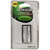 Ultralast Nintendo DSI Video Game Replacement Battery