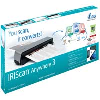 I.R.I.S IRIScan Anywhere 3 Portable Scanner