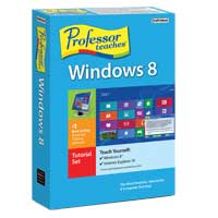 Individual Software Professor Teaches Windows 8 (PC)