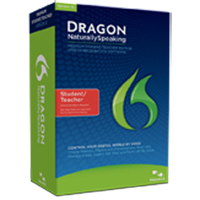 Nuance Dragon NaturallySpeaking Premium Student/Teacher v12 (PC)