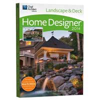 Chief Architect Home Designer Landscape & Deck 2014 (PC)