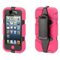 Griffin Survivor Case for iPhone 5 - Pink/Black