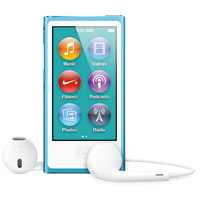 Apple iPod nano 16GB (7th Generation) - Blue