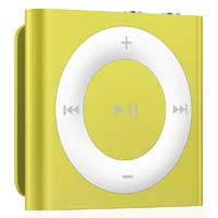 Apple iPod shuffle 2GB (4th Generation) - Yellow