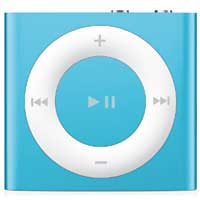 Apple iPod shuffle 2GB (4th Generation) - Blue