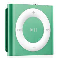 Apple iPod shuffle 2GB (4th Generation) - Green