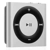 Apple iPod shuffle 2GB (4th Generation) - Silver