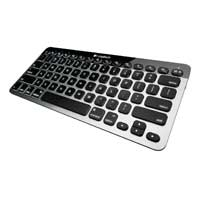 Logitech Bluetooth® Easy-Switch™ Illuminated Keyboard for Mac®, iPad® and iPhone®