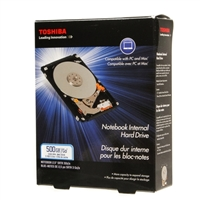 "Toshiba Notebook 500GB SATA 3.0Gb/s 5,400 RPM 2.5"" Internal Hard Drive PH2050U-1I54"