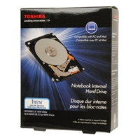 "Toshiba 1TB 5,400 RPM SATA II 3Gb/s 2.5"" Notebook Internal Hard Drive PH2100U-1I54"