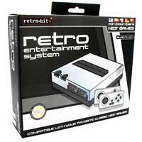 Retro NES Console Silver