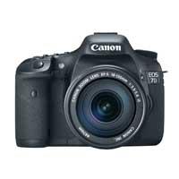 Canon EOS 7D 18 Megapixel Digital SLR Camera Kit with EF 18-135 IS STM Lens - Black